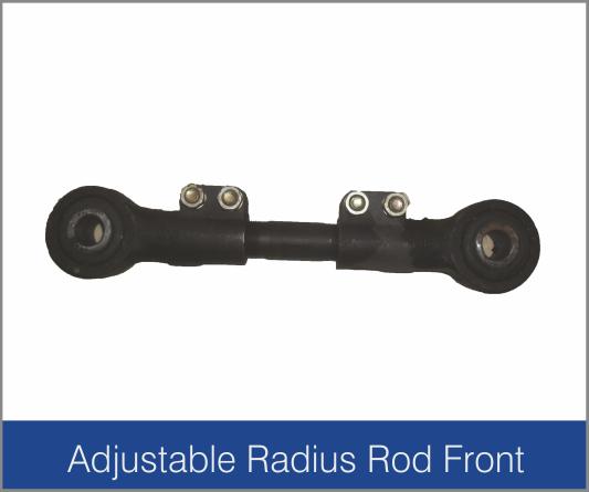 Adjustable Radius Rod Front