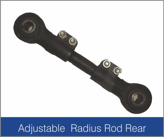 Adjustable Radius Rod Rear