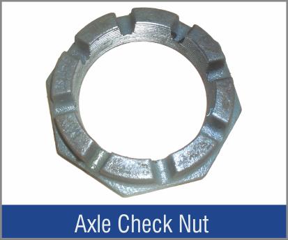 Axle Check Nut