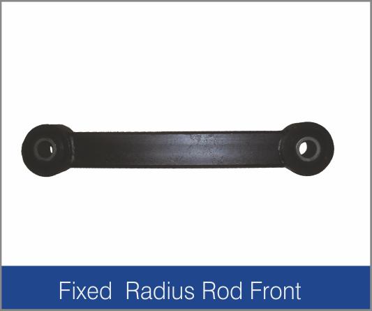 Fixed Radius Rod Front