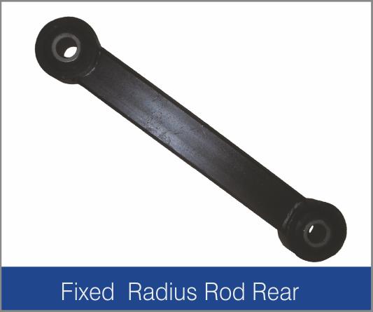 Fixed Radius Rod Rear