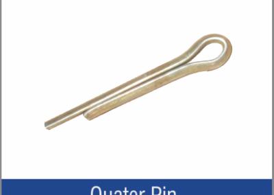 Quater Pin