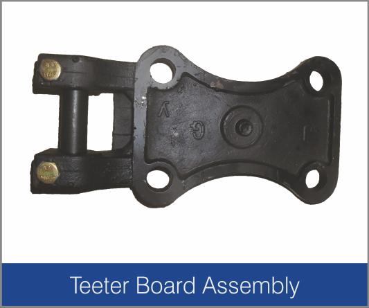 Teeter Board Assembly